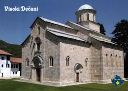 1 AK Kosovo * Kirche Im Kloster Visoki Dečani - Erbaut Von 1328 Bis 1335 - Seit 2006 UNESCO Weltkulturerbe * - Kosovo