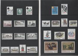 DANEMARK - Année Complète ** 1994 - Yvert  1073 à 1096 - Ganze Jahrgänge