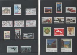 DANEMARK - Année Complète ** 1995 - Yvert  1097 à 1118 - Ganze Jahrgänge