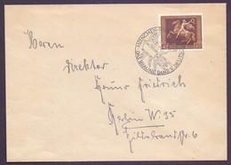 Dt. Reich 1938 - Das Braune Band - MiNr. 671 Auf Brief - Michel 85,00 € (484) - Unclassified