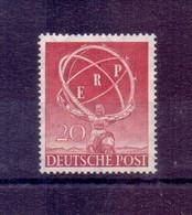 Berlin 1950 - Industrieausst. ERP - MiNr.71 Postfrisch** - Michel 100,00 € (489) - Unused Stamps