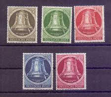 Berlin 1951 - Glocke Rechts - MiNr. 82/86 Postfrisch - Michel 120,00 € (245) - Unused Stamps