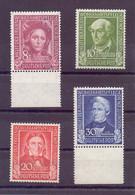 Bund BRD 1949 - Wohlfahrt Helfer MiNr 117/120 Postfrisch - Michel 110,00 € (348) - Unused Stamps