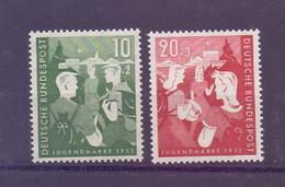 Bund 1953 - Jugendplan - MiNr. 153/154 Postfrisch** - Michel 45,00 € (645) - Unused Stamps
