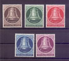 Berlin 1951 - Glocke Links - MiNr. 75/79 Postfrisch - Michel 100,00 € (389) - Unused Stamps