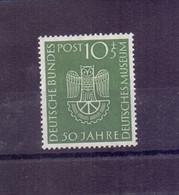 Bund BRD Deutsches Museum 1953 - MiNr. 163 Postfrisch - Michel 31,00 € (163) - Unused Stamps