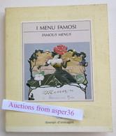 "Album Menu "" I Menu Famosi, Famous Menus"" 1988 - Verzamelingen"