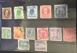 (stamps 24/2/2021)  Selection Of Used (11) CUBA Stamps Cancelled - Sin Clasificación