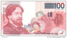 BELGIUM P. 147 100 F 1995 UNC - 100 Francs