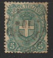 ITALIE : N° 58 Oblitéré (1/4 De La Cote) - Gebraucht