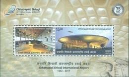 INDIA 2017 Chhatrapati Shivaji International Airport , Mumbai MINIATURE SHEET 10nos. M/S MNH - Nuevos