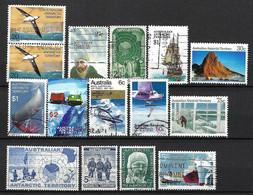 AUSTRALIE Terr. Antarctique 1957-73: Lot D'obl. - Usados