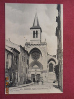 CPA - Cahors - Eglise Saint-Urcisse - Cahors