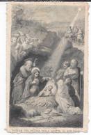 "Image Pieuse ""Natale Del Messia Nella Grotta "" - Andachtsbilder"