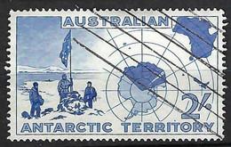 AUSTRALIE Terr. Antarctique 1957: Le Y&T 1 Obl. - Usados