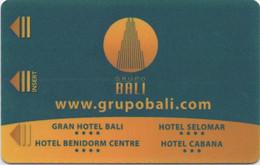 Grupo Bali (4 Hotels En Espagne) : Mundomar Dolphins - Cartas De Hotels