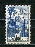 MAROC (RF) - VUE -   N° Yt 328 Obli. - Oblitérés
