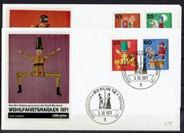 1971/412/415 FDC - FDC: Sobres