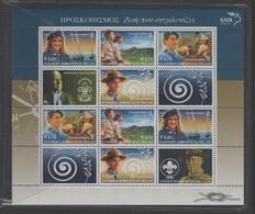 GRÈCE 2002 - Scoutisme - Yvert  2908 à 2911  émis En Feuillet - Ungebraucht