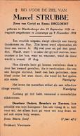 Oorlog 40 45 - STRUBBE Marcel ° Blankenberge 1926  -+ Lissewege 1944 - Religion & Esotérisme