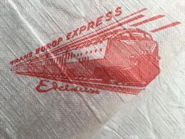 TRAIN TRANS EUROP EXPRESS✔️ EDELWEISS -☛ Serviette En Papier Restaurant Rail Railway Chemin De Fer -Wagon Locomotive - Spoorweg