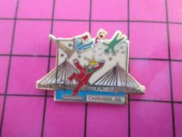 915a Pin's Pins / Beau Et Rare : Thème VILLES / CHALONS SUR SAONE PONT DE BOURGOGNE CARNAVAL 1992 - Cities
