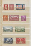 Collections De 21 Timbres Neufs Sans Charnière Du N° 175 Au N° 455 (de 1926 à 1940 Cote 560 Euros) - Verzamelingen