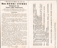 Oorlog 40 45 - STUBBE Henri ° Middelkerke 04.06.1917 + Wilhemshaven  1943 - Religion & Esotérisme