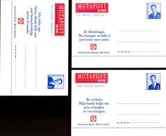 11196851 BE; Mutapost + Je Déménage;  3 Cartes Postales, Changement D'adresse, 3 Langues, Français, Néerlandais Et Allem - Cartes Postales [1951-..]
