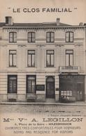 CPA - SELECTION  - HAZEBROUCK - Le Clos Familial Mme Vve A.LEGILLON - 4 Place De La Gare - Hazebrouck