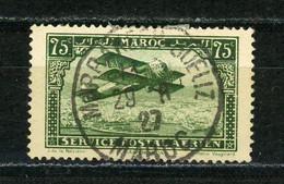 MAROC (RF) - POSTE AÉRIENNE N° Yt 5 Obli. RONDE DE MARAKECH - Luftpost