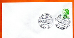 72 LE MANS 50° EDITION 1982 Lettre Entière N° HI 547 - Gedenkstempels
