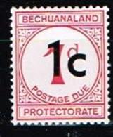 BECHUANALAND / Neufs**/MNH**/ 1961 - Timbre-Taxe / YVT N°9a - MI N°7w2 - 1965-1966 Interne Autonomie
