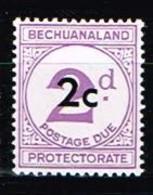 BECHUANALAND / Neufs**/MNH**/ 1961 - Timbre-Taxe / YVT N°10 - MI N°8w1 - 1965-1966 Interne Autonomie