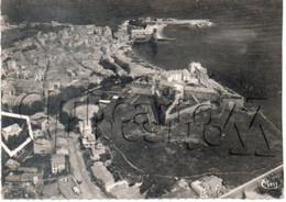 """Collioure (66) :  Vue Aérienne Générale Au Niveau De La Villa """"Casa  Païral"""" Près De La Citadelle En 1950 GF. - Collioure"""
