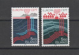 ISLANDE - EUROPA 1983 - 2 Valeurs ** - Yvert  551-552 - Ungebraucht