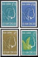 VIET NAM Du Sud Vietnam 1961 - YT 157 à 160 - La Série  Complète - Protectionde L'enfance  - NEUFS** - Vietnam
