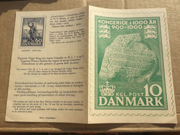 K16 Dänemark 1975 1000 Jahre Königreich - Cartas