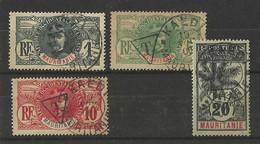Timbres Taxe Mauritanie 1906 - Valeur 230 € - Oblitérés