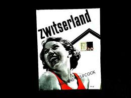 "Dépliant Touristique "" Zwitserland Zomer "" Wagons-lits // Cook - Toeristische Brochures"