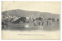ZERDA DE SIDI ABDALLAH - Vue D'ensemble...1908  Animé Cachet BM... - Tunisia