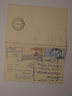 Belgique Entier 170 Avec Complément Retour à L'envoyeur - Cartes Postales [1951-..]