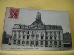 22 7239 CPA 1914 - 22 SAINT BRIEUC. L'HOTEL DES POSTES - ANIMATION - Saint-Brieuc