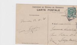 1911 Cartolina Tripoli Di Barberia Viaggiata - Postcard Tripoli Of Barbary Used - Airmail