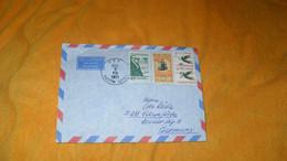 ENVELOPPE DE 1971../ APOLLO 15 UNITED STATES NAVY...CACHET USS AUSTIN POUR ALLEMAGNE..+ TIMBRES X4.. - Cartas