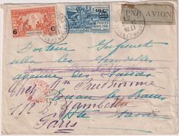 L PAR AVION-TP N° 148/9 OB- Saïgon Centrale- Cochinchine 24/9/31 Pour La Hte. Savoie ++ - Autres