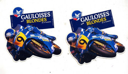 Autocollant Gauloises Blondes Moto - Adesivi