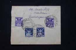 TCHÉCOSLOVAQUIE - Enveloppe Pour La France En 1921, Affranchissement Au Verso - L 89767 - Briefe U. Dokumente
