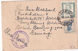 BRESIL 1946 CARTE CENSUREE DE RIO - Briefe U. Dokumente