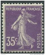 France (1907) N 142 ** (Luxe) - Neufs